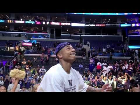 DimeTV - Isaiah Thomas & Washington Huskies 2011 Pac-10 Champs