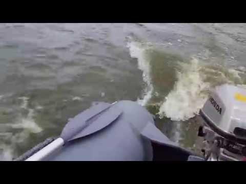Лодка Кайман 330 + мотор Honda BF5A 5л.с.