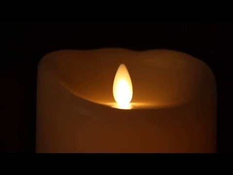 Battery Operated Luminara Candles with Remote Control [HD - 1080p]