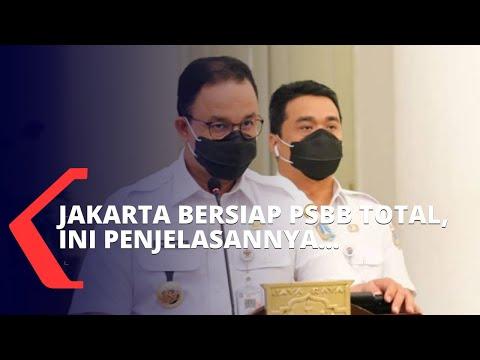 Jakarta Bersiap PSBB Total, Ini Penjelasannya