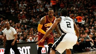 Spurs-Cavaliers Look Back