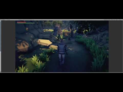 Unity 3D Low Poly Fantasy Test