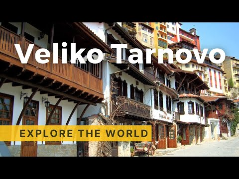 Walking in Veliko Tarnovo, Bulgaria