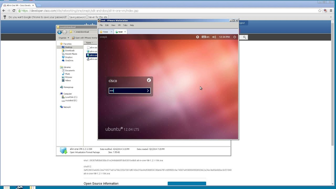 Running Cisco IOSv in VMWare Workstation Part 1