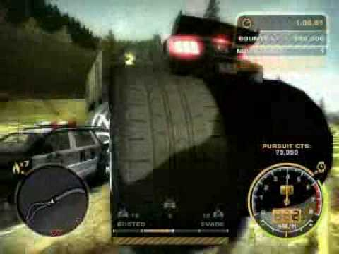 need for speed most wanted monster truck rampage youtube. Black Bedroom Furniture Sets. Home Design Ideas
