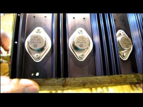 Marantz 1060 Amplifier Restoration Project