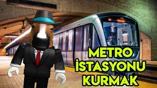 We're Setting Up Our Own Subway Station 🚇 🚇 | Metro Tycoon | Roblox English