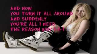 Smile (acoustic) - Avril Lavigne (lyrics)