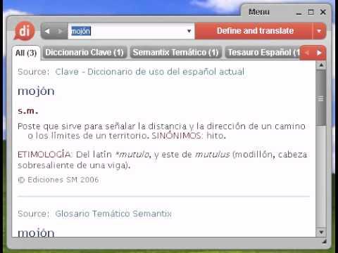Mojon Definicion
