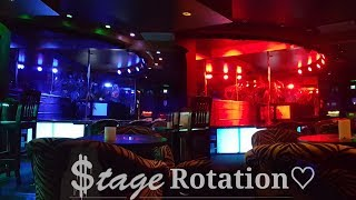 All About The Strip Club Stage Rotation!