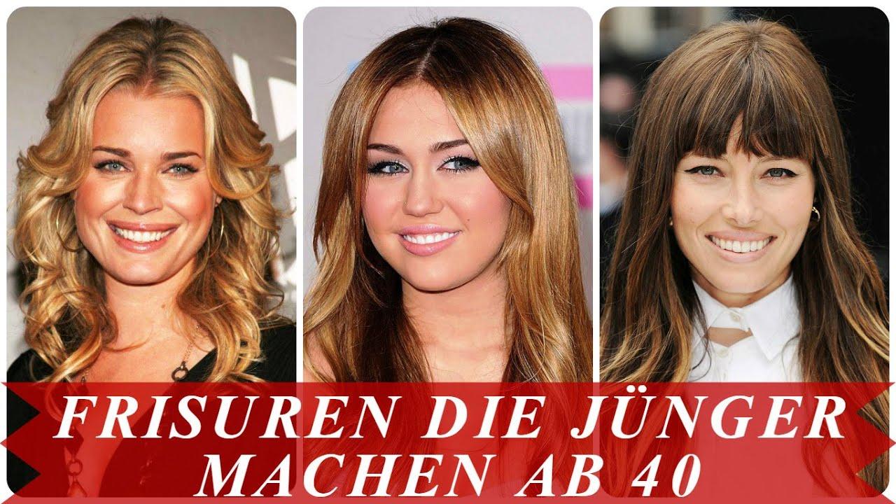 Frisuren Die Jünger Machen Ab 40 YouTube