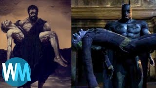 Top 10 Easter Eggs In The Batman Arkham Games!