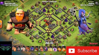 CoC TH9.5 Best Ground Attack Strategy