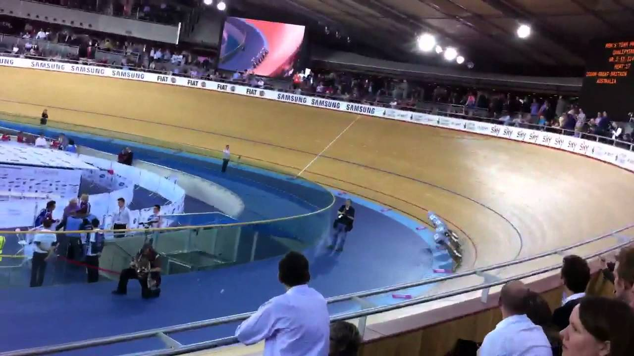 London 2012 Olympic Games Prepares Track Cycling Team Australia Take First Place at the Velodrome