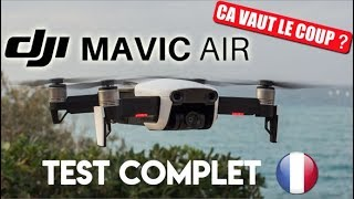 ÇA VAUT LE COUP ? Mavic Air Fly More Combo - Test Du Drone