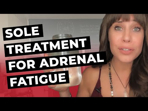 Sole Treatment For Adrenal Fatigue