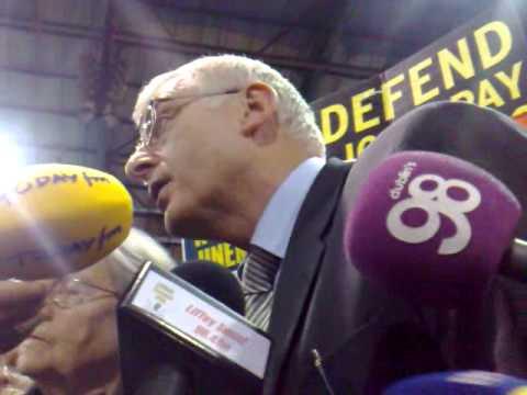 Joe Higgins elected MEP 08/June/2009