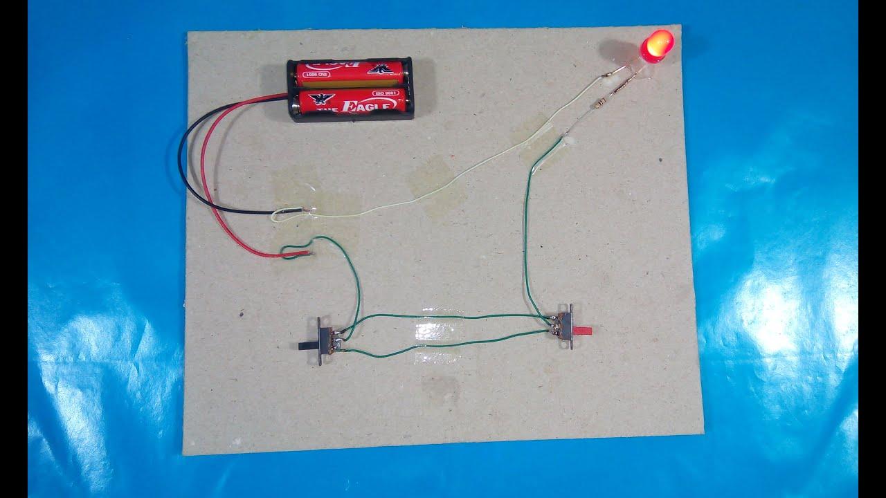 circuit diagrams stairs simple test [ 1280 x 720 Pixel ]