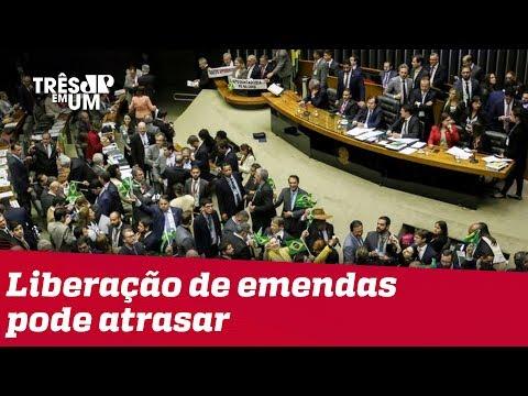 Falta de dinheiro no Orçamento pode atrasar liberação de emendas