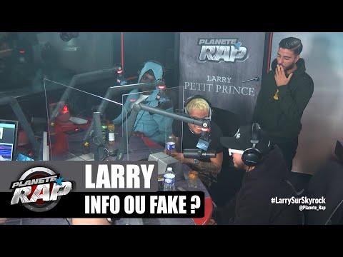 Youtube: INFO ou FAKE spécial LARRY! avec Hamza, Imma & L'irlandais #PlanèteRap