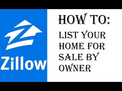 How To List Your Home on Zillow FSBO - For Sale By Owner - Zillow Walkthrough