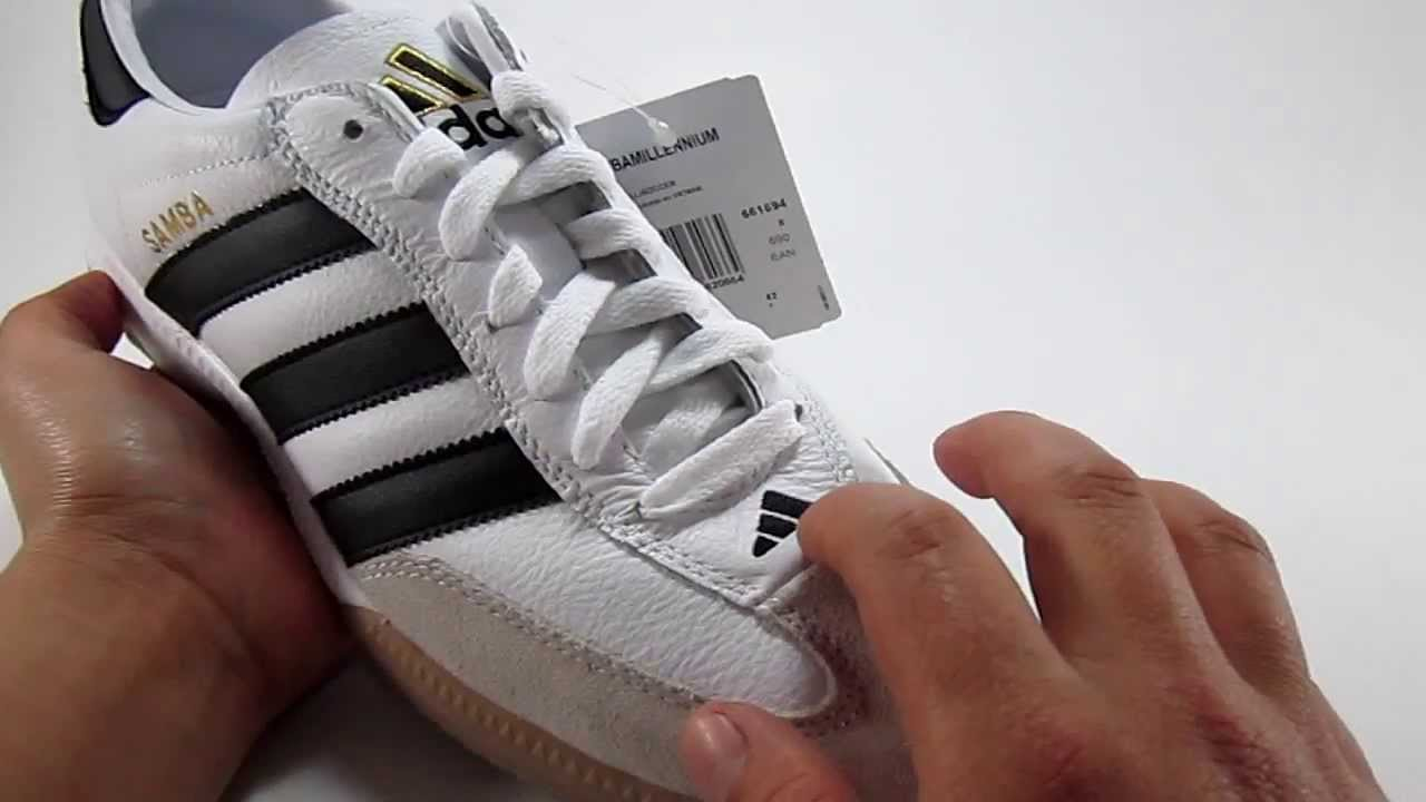 adidas samba millenium vs classic