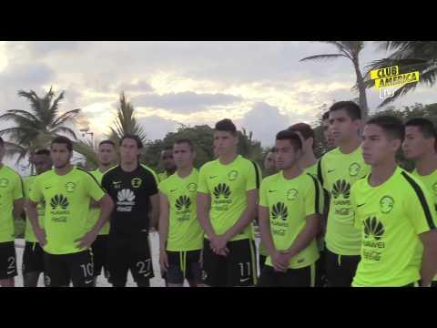 Pretemporada Club América Playa Día 1