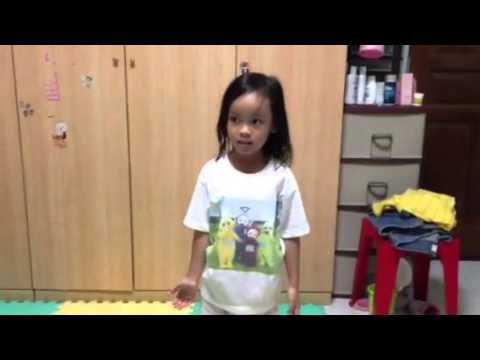 Jana sings and dances