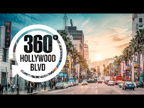 Hollywood Boulevard in 360° | Best Places in Los Angeles