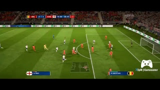 Inglaterra X Belgica Final FIFA18 World Cup