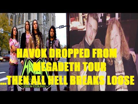 HAVOK Dropped From MEGADETH Tour...Then All Hell Breaks Loose