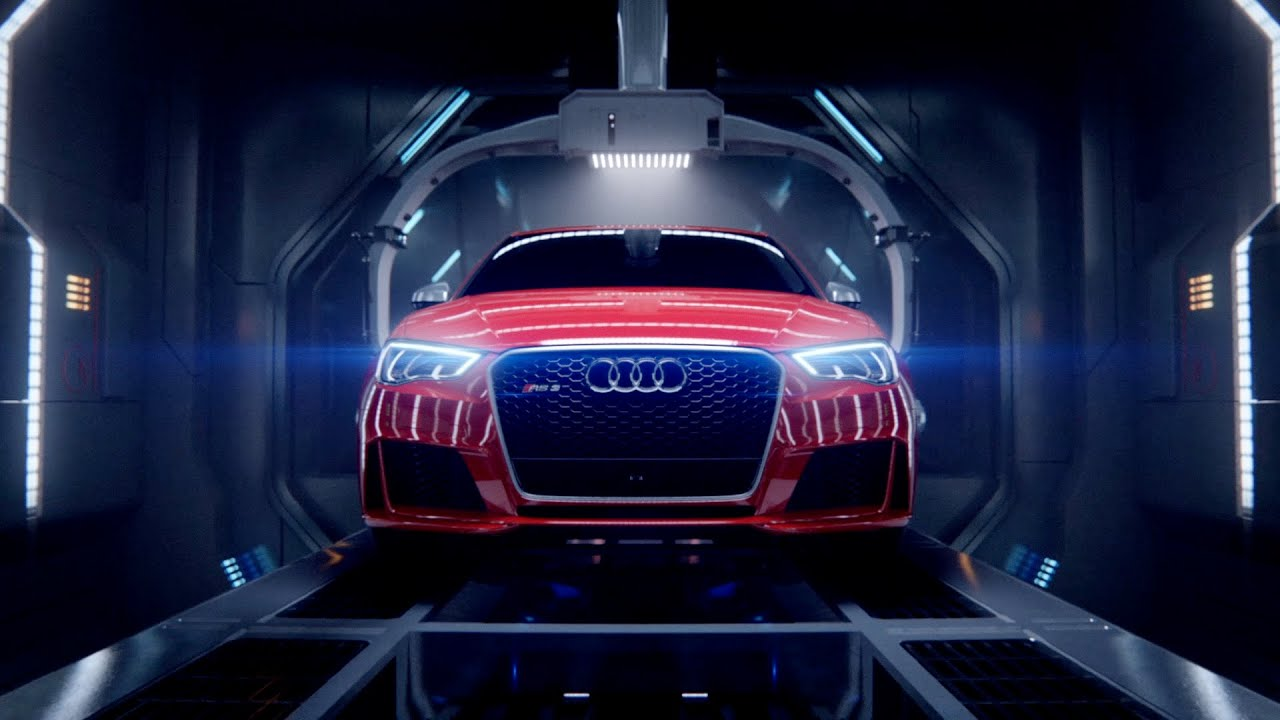 Audi Birth YouTube - Audi car commercial