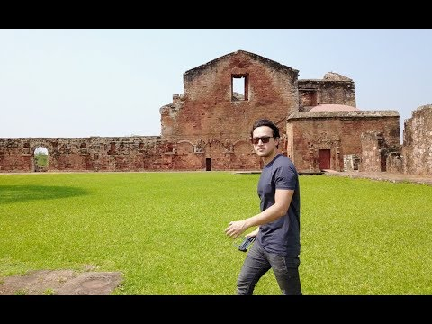 Exploring the Ruins of Trinidad, Paraguay - with the DJI MavicPro Drone