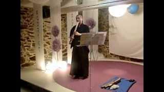 Concierto De Sakuhachi Por Rodrigo Rodríguez En Proyecto Dragonfly