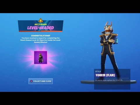 New Yond3r Spectrum Flair Styles In Fortnite