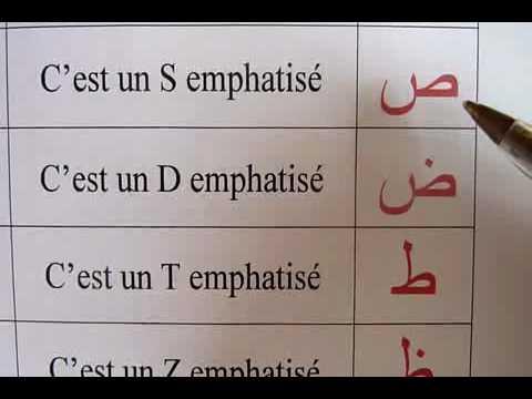 leçon1 : l'alphabet arabe