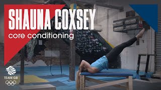 Shauna Coxsey's conditioning training: Workout Wednesday 20.02.19