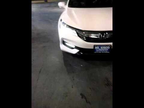 2016 Honda Accord Touring Headlights