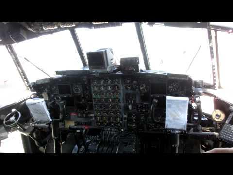 A Flight Engineer describes his old-reliable C-130H  Hercules Aircraft - Kentucky Air National Guard