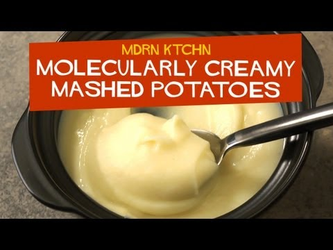 Generate Molecularly Creamy Mashed Potatoes - MDRN KTCHN Snapshots