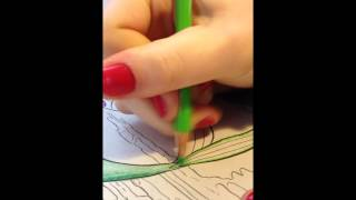 Video 17*- Strictly Sounds! Coloring and Gum Chewing ASMR ~ NO BARKING AND FLIPPED THE PROPER WAY!~