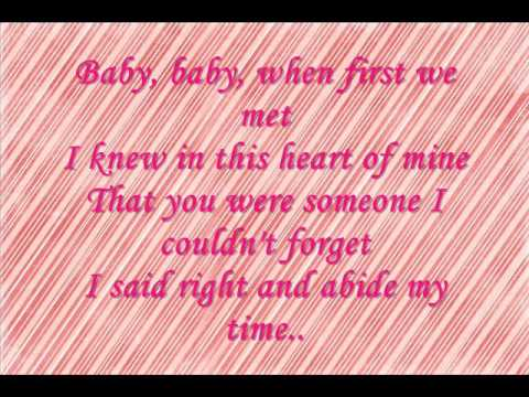 Baby Now That I've Found You -- Alison Krauss -- plus lyrics