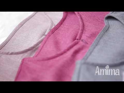 Gamis Amima Faiqa Polos Linen Youtube