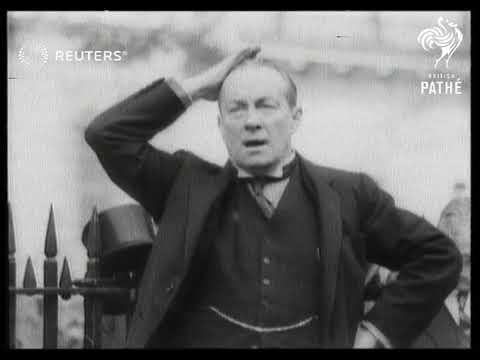 London: Curzon statue unveilled by Stanley Baldwin (1931)