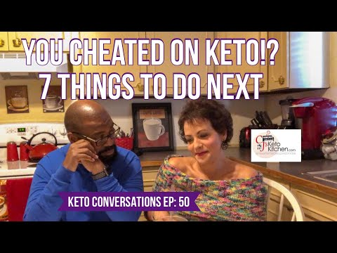 You Cheated On Keto!? 7 Things to Do Next | Cheat Day Recovery #keto #ketolifestyle #weightloss