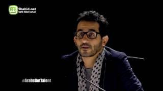 فريق CawaPeace يقدم مسرح الضوء الأسود في Arabs Got Talent