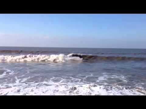 Vale Ogmore Llantwit Locals Surfing at