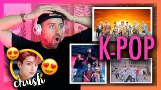 REACCIONANDO AL K-POP (BTS , Blackpink ,...) | Uy Albert!