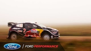 M-Sport Ford World Rally Team Battles Intense Fog at Rally Argentina | Ford Performance