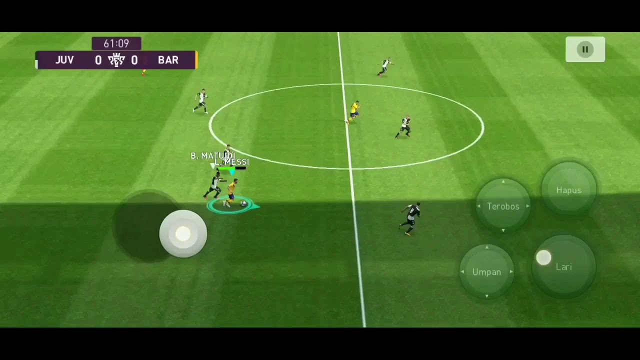 Pes 2021 barca vs juventus - YouTube